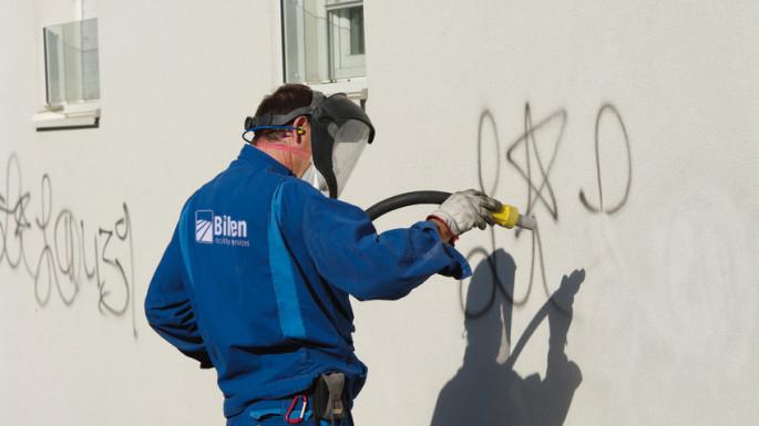 Graffittientfernung